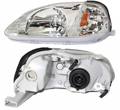 2000 honda civic driver headlight - 9