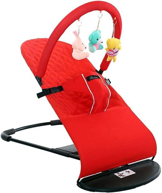 Baby Bouncer - Silla reclinable de 4 posiciones, plegable, fácil ...