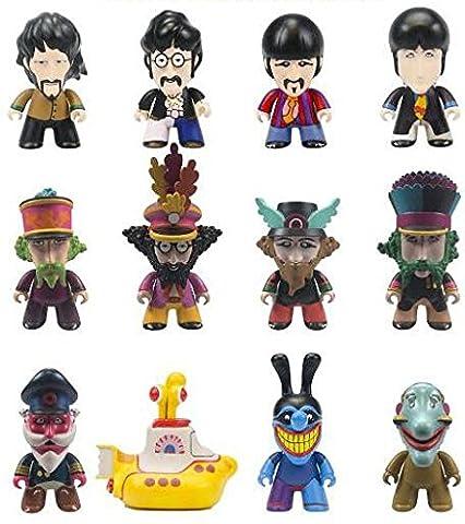 The Beatles Titans Yellow Submarine Blind Box Vinyl Figure Standard (The Beatles Lego)