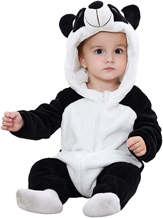 4510d0fbf2ea Amazon.com  chinatera Baby Boys Girls Hoodies Romper Outfit Onesies ...