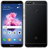 Huawei P Smart (32GB) 5.6' Fullview Display & Dual Camera's, 4G LTE Dual-SIM Factory Unlocked w/ Fingerprint Scanner FIG-L23 International Model, No Warranty (Black)