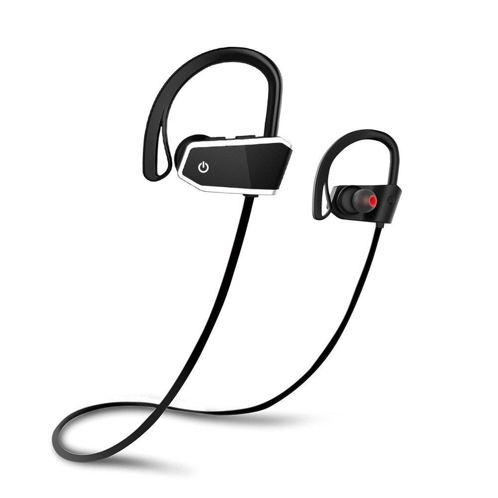 Auriculares Inalambricos Bluetooth Deportivos 4.1 STRIR Z10 con Micrófono y Cancelación de Ruido y Impermeables IPX7 para Hacer Correr Running Compatible ...
