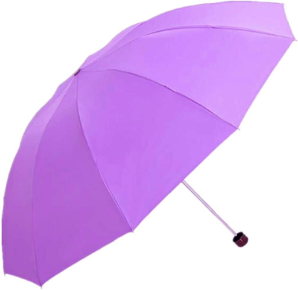 EXTRA LARGE PURPLE Travel Water Proof Compact Folding Rain Anti UV Windproof Umbrella #ROTH