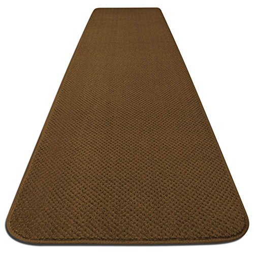 Bronze Carpet (Skid-resistant Carpet Runner - Bronze Gold - 8 Ft. X 36 In. - Many Other Sizes to Choose From)
