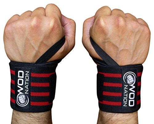 (WOD Nation Wrist Wraps Wrist Support Straps (12