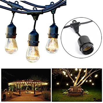 Outdoor string lights 14 gauge awg wiring 24 feet heavy duty outdoor string lights 14 gauge awg wiring 24 feet heavy duty hanging market keyboard keysfo Image collections