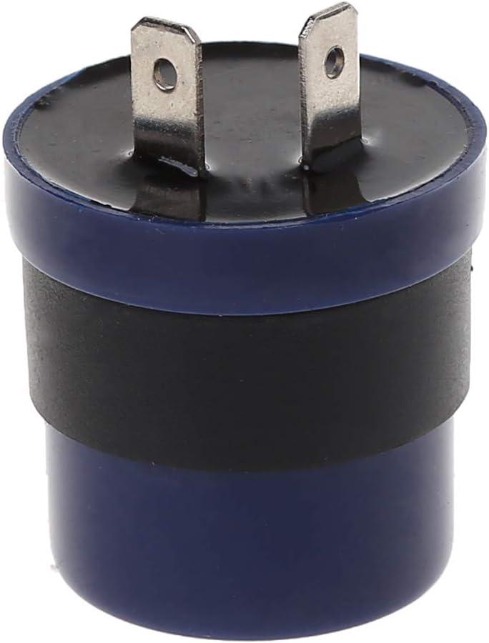 CADANIA DC 6V 12V Entrada Motocicleta Azul Incorporada Se/ñal ac/ústica Intermitente Intermitente Intermitente Intermitente Interruptor Intermitente Intermitente Intermitente Intermitente