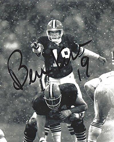 Bernie Kosar Autographed Cleveland Browns 8x10 Photograph Certified Authentic