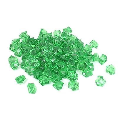 Amazon.com : eDealMax Acuario de plástico de Piedra Artificial de Cristal del acuario ornamento 110pcs Verde : Pet Supplies