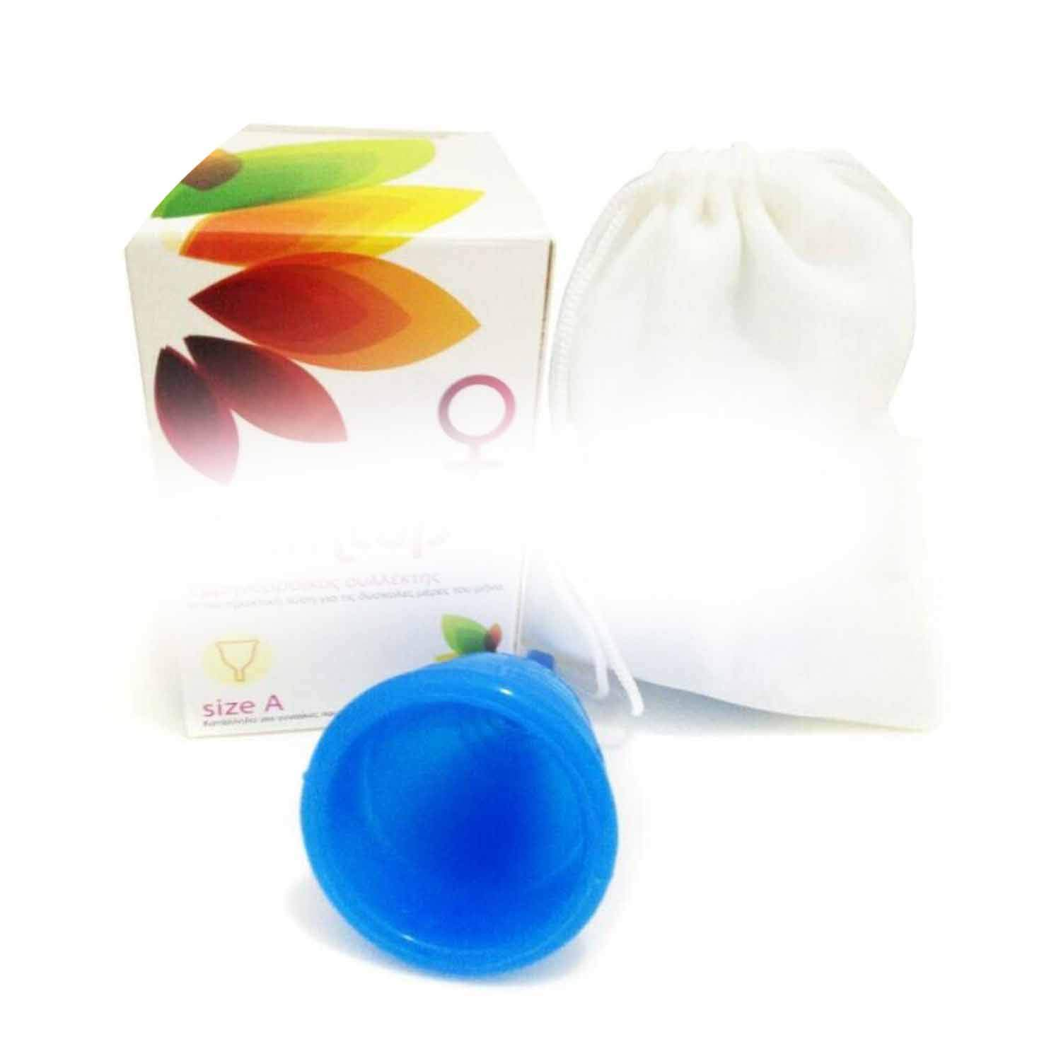 50pcs Feminine Hygiene Product - Grade Silicone Menstrual Cup/y Cup 5 Crs for Choose,Pink,Size S