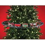 Trenino Elettrico Con Luci E Suoni Agganciabile All Albero Di Natale