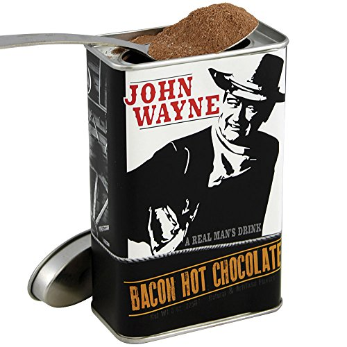 John Wayne Bacon Hot Chocolate Mix - The Duke's Bacon Flavored Cocoa