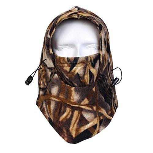 ECYC Balaclava full face Fleece Face Mask Simulate Jungle Camouflage Face Mask