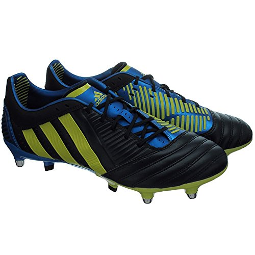 92f5cafe4870 Adidas Predator Incurza XTRX SG Punjab Lime Bright Blue Rugby Boots   G60023  - UK 6 EU 39.3  Amazon.co.uk  Shoes   Bags