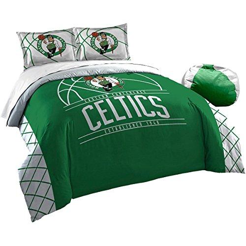The Northwest Company Officially Licensed NBA Boston Celtics Reverse Slam Full/Queen Comforter and 2 Sham - Comforter Boston