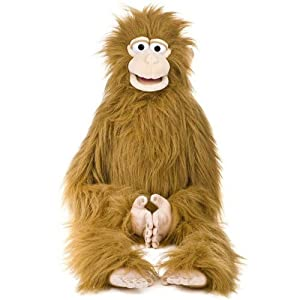''Silly Monkey'', 38In Wrap Around Puppet, -Affordable Gift for your Little One! Item #DSPU-SP2004B - 51K4kOb 2BTsL - 38″ Silly Monkey, Wrap Around Waist, Ventriloquist Style Puppet