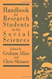 A Handbook for Research Students in the Social Sciences, , 1850009368