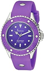 Freelook Women's HA9035-8C All Purple Band & Dial Watch