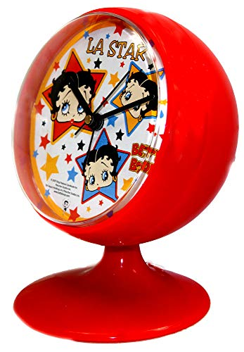 (Betty Boop. Table Clock,Desk Clock,Alarm Clock & Bedside Clock,Official)