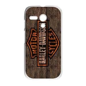 Motorola G Cell Phone Case White Harley Davidson ocx