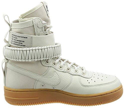 Nike Femmes Sf Af1 Chaussure Occasionnelle Lumière / Os / Lumière / Os