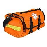 Empty First Responder On Call Trauma Kit Bag W/ Reflectors Orange