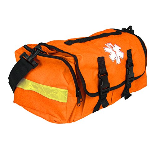 Empty First Responder On Call Trauma Kit Bag W/ Reflectors Orange by Dixie Ems