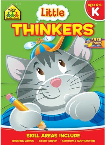 Amazon.com : Preschool Workbook: Little Thinkers Kindergarten 1 pcs ...