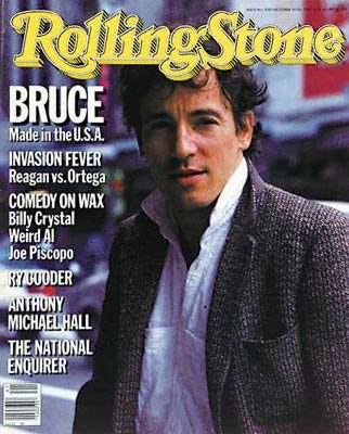 Rolling Stone Magazine # 458 October 10 1985 Bruce Springsteen (Single Back Issue)