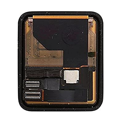Ogodeal Apple Watch Screen Repair Kit LCD and Digitizer Touch Screen Assembly Replacement Series 1 38mm and 42mm with Repair Tool Set