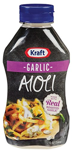 - Kraft Garlic Aioli 12 oz (Pack of 3)