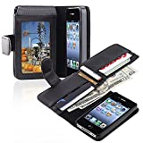 Best INSTEN Charger Iphone 4s - Insten Leather Case with Wallet for Apple iPhone Review