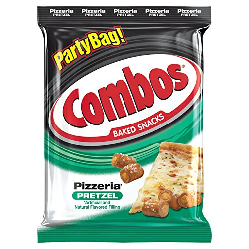 COMBOS Pizzeria Pretzel Baked Snacks 15-Ounce Bag (Club Quarter Fat)