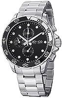 SO&CO York Men's 5014.1 Yacht Club Analog Display Analog Quartz Silver Watch from SO&CO New York