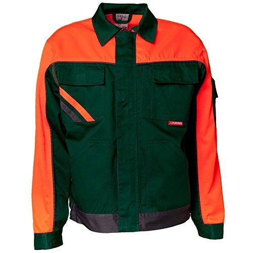 Planam 2412050 Visline V1 Blouson de travail Taille 50 en Vert/Orange/Ardoise