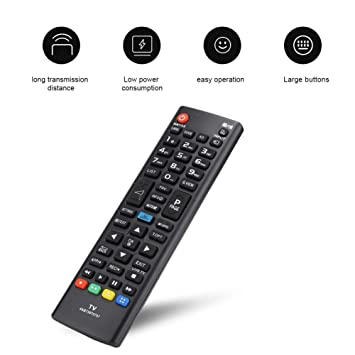 Wendry Control Remoto Universal, para LG AKB73975757 Control ...