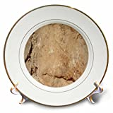 3dRose TDSwhite – Rock Photos - Rocks Topography - 8 inch Porcelain Plate (cp_281924_1)