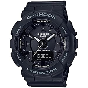 Casio Black 49mm Resin G-Shock Unisex Watch GMAS130-1A