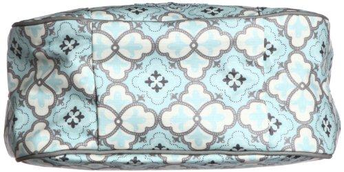 Petunia Pickle Bottom Touring Tote - Bolsa de maternidad, diseño Glazed Classically Crete