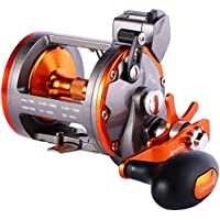 Sougayilang Line Counter Trolling Reel Conventional Level...