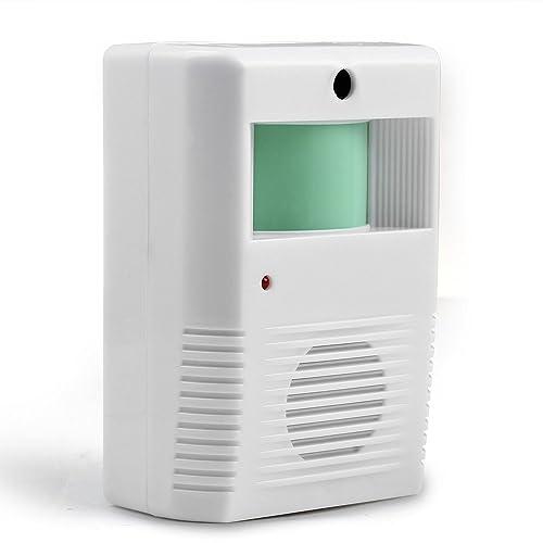Mini Visitor White Door Entry Chime Motion Beam Sensor For