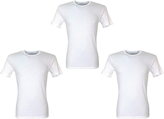 Map - Camiseta interior para hombre, confeccionada en algodón ...