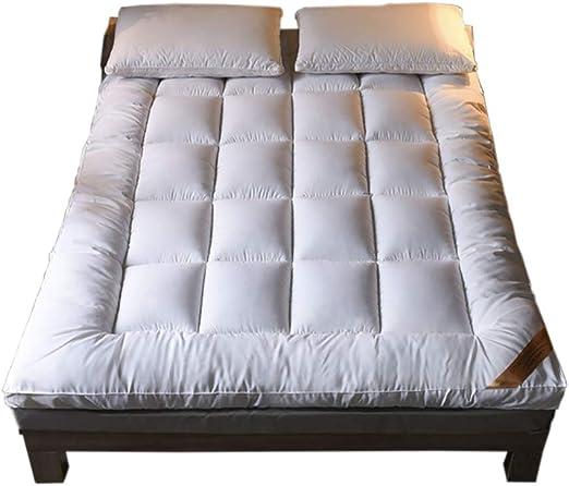 Colchón de futón Grueso Dormir Mat para Dormitorio Alcoba Colchón ...