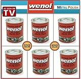Wenol Metal Polish Case of 6 1000 ml Cans