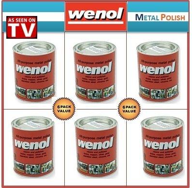 Wenol Metal Polish Case of 6 1000 ml Cans by Wenol (Image #1)