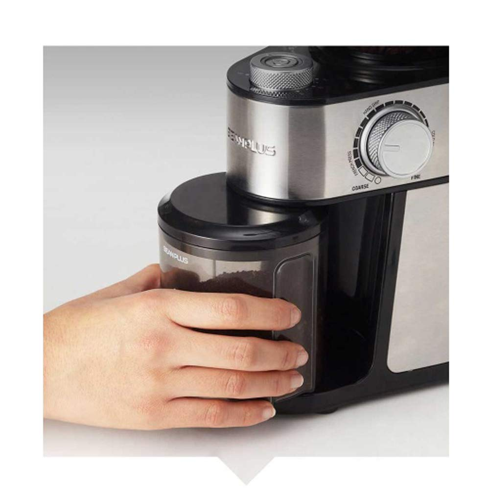 BEANPLUS BCG-200 Flat Burr Electric Coffee Grinder Coffee Bean Grinding Mill 220V by [BEANPLUSOEM] (Image #8)