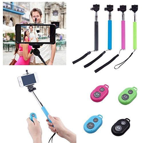 Extendable Adjustable Bluetooth Telescopic Smartphones