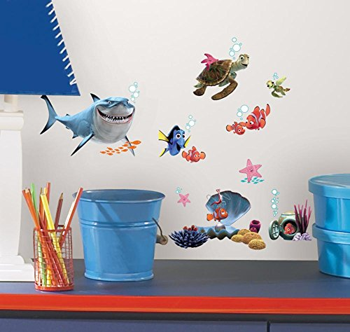 - Finding Nemo Peel & Stick Wall Decals 10 x 18in