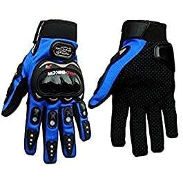Vingaboy Probiker Gloves for Motor Cycle/Bike/Moto Cross/Outdoor Sports Bicycle Cycling/Racing/Driving/Riding – Full…