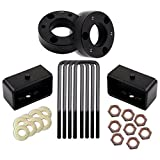 Leveling Lift Kit 2 inch,ECCPP 2'' Front and 2'' Rear Leveling lift kit for Chevy Silverado Sierra GMC 07-18